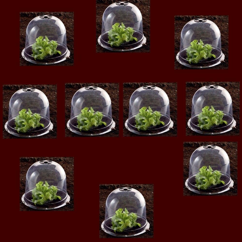 Batawa Plastic Protective Garden Cloche, Plant Bell Cover 10pcs/lot