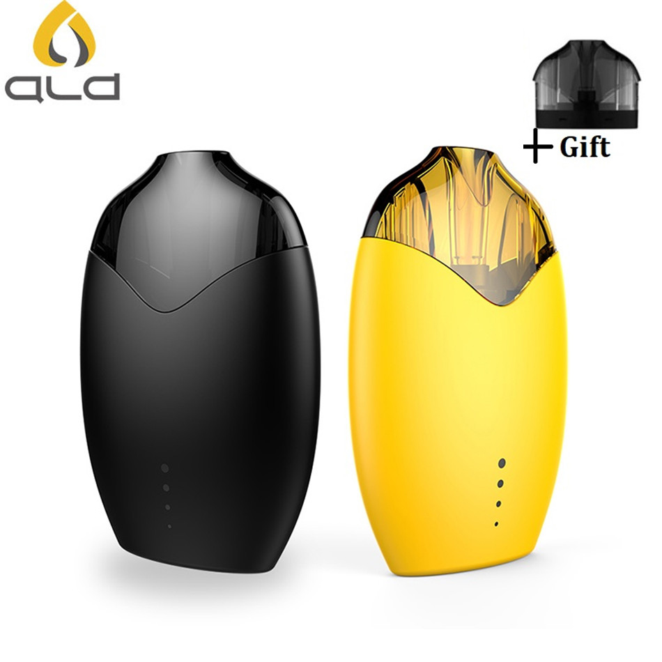 Original Electronic Cigarette ALD AMAZE LEMON Vape Kit 510mah 3.0ml Tank Built In Battery 1.0ohm Ceramic Coil Atomizer Pod Mod