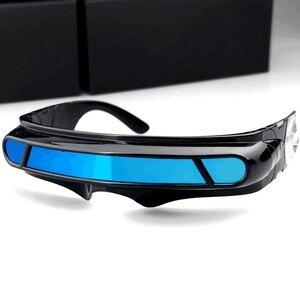 Image 4 - X men Laser Cyclops okulary mężczyźni kobiety projektant specjalne materiały pamięci spolaryzowane podróże UV400 okulary przeciwsłoneczne okulary w stylu Vintage