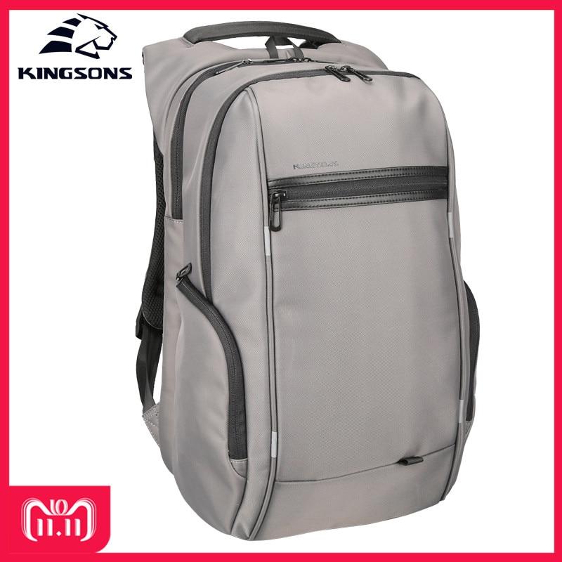 Kingsons KS3140W 13.3 15.6 17.3 inch Laptop Backpack Travel Backpack Anti-impact Waterproof School Bags Backpack for Men Women