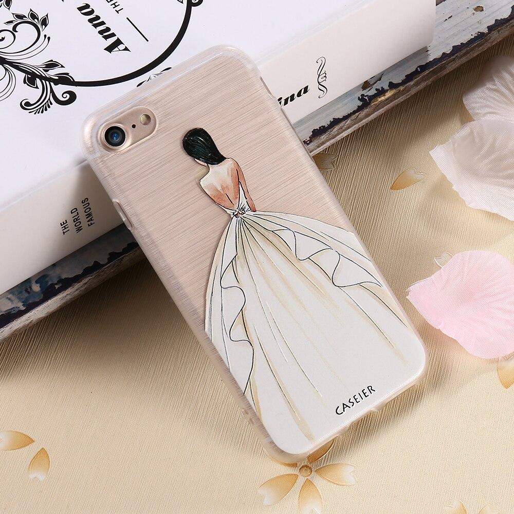 CASEIER Հեռախոսի պատյան iPhone 8 8 Plus 7 7 Plus Cover - Բջջային հեռախոսի պարագաներ և պահեստամասեր - Լուսանկար 4
