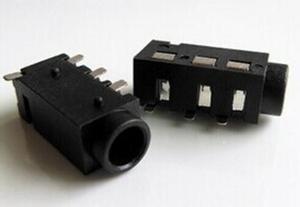 10PCS 3.5mm Female Audio Connector 4 Pin SMT SMD Headphone Jack Socket PJ-320D