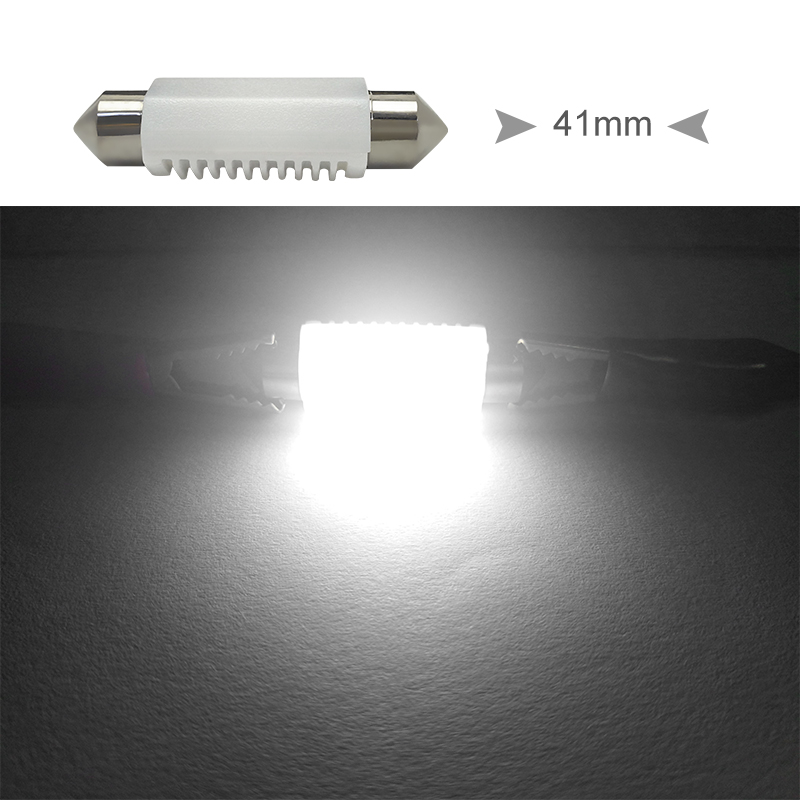 CNSUNNYLIGHT High Quality C5W C10W LED 31mm 36mm 39mm 41mm CANBUS Car Festoon Light Auto Interior Dome Lamp Reading Bulb White 12V 24V (16)