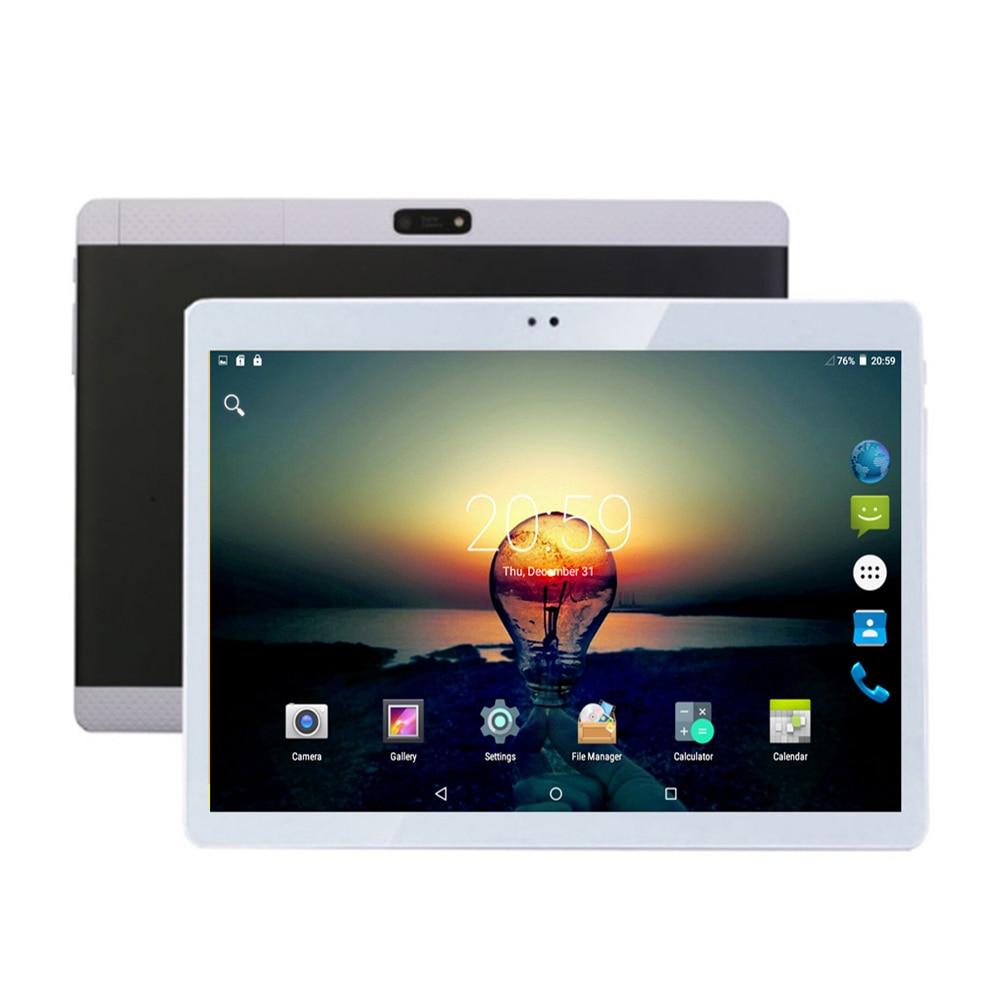 Original Android 7.0 10 inch Tablets 3G Octa Core 4G RAM 32GB ROM Dual SIM slots 64GB ROM 4G Lte Tablet PC 10.1 + Gift 2018 new 10 1inch tablet pc android 7 0 4 gb ram 32gb rom cortex a7 octa core camera 5 0mp wi fi ips telefoon tabletten pc