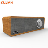 CUJMH Bluetooth Speaker Retro Wooden Mini Portable Outdoor Audio Wireless Bass Stereo Music Player Surround Speakers for Mobile
