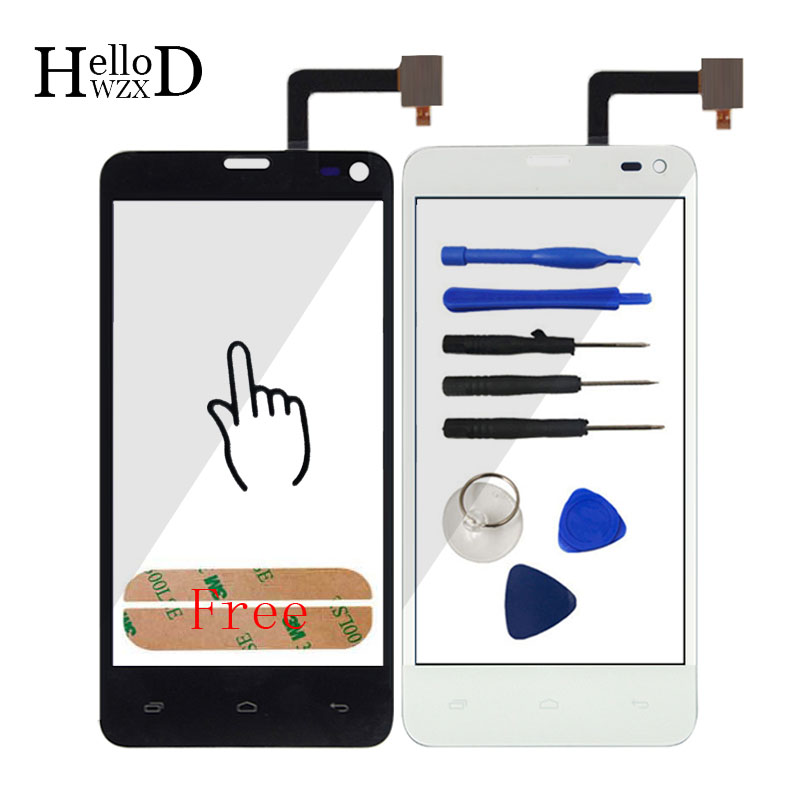 TouchScreen For Fly IQ4416 IQ 4416 Touch Screen Digitizer Glass Mobile Phone Touch Panel ...