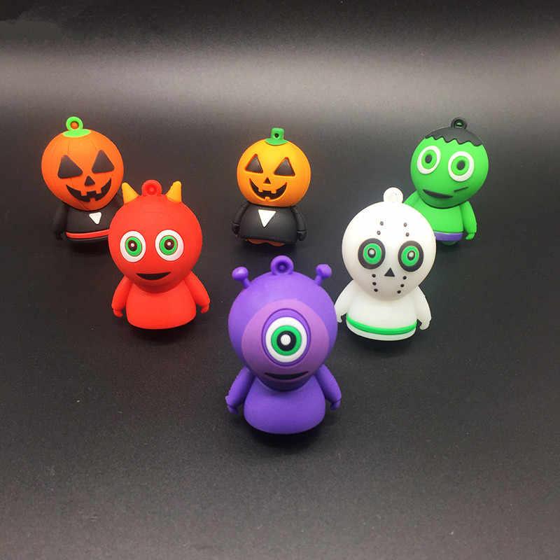 Cartoon obcych USB flash napęd 32gb pendrive 16GB długopis 128gb 8GB 4gb pamięć usb stick 64gb śliczne zabawa boże narodzenie/Halloween/prezent
