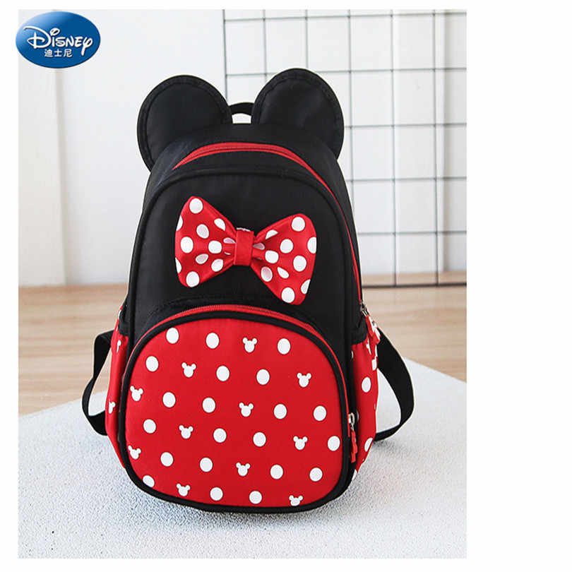 61c21c2b746 ... Disney 2019 New Mickey Mouse Backpack Kids Girls Boy School-Bag Cute Children  Backpacks Polyester