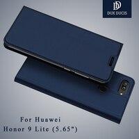 Honor 9 Lite Case Dux Ducis Flip Leather Case Huawei Honor 9 Lite Case Leather Wallet