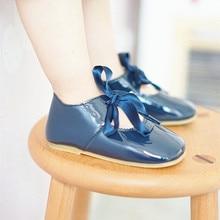Из искусственной кожи Детские Сандалии Мокасины выдалбливают детская обувь Chaussure новорожденных босоножки детские сандалии для девочек