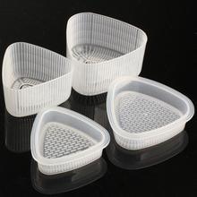 2 пары практичная кухня бенто украшения суши Onigiri формы пищевого пресса треугольной формы рисовый шар Производитель прозрачный DIY инструмент