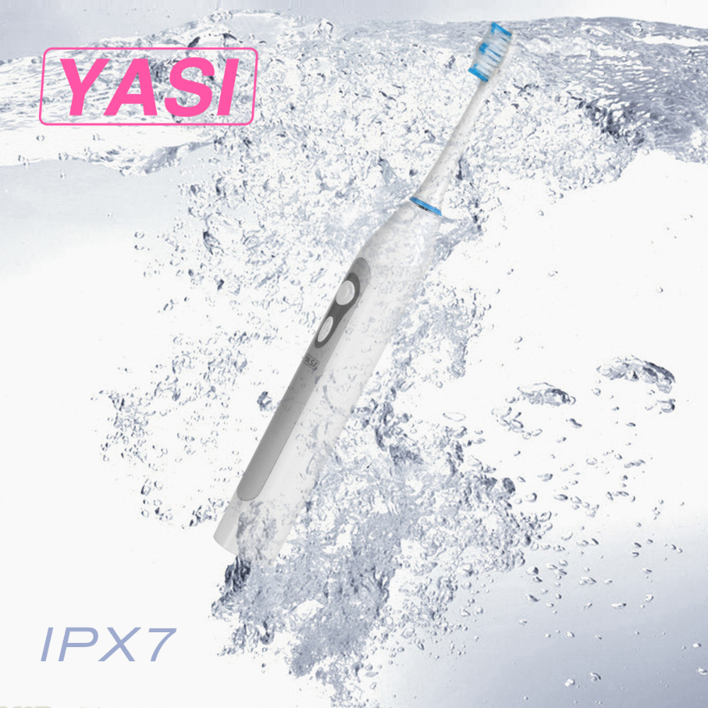 YASI YS961 Acoustic Wave Electric toothbrush Oral Hygiene Dental Care Electric Tooth Brushes yasi fl a12 electric sonic vibration toothbrush improves your dental and oral hygiene efficiently