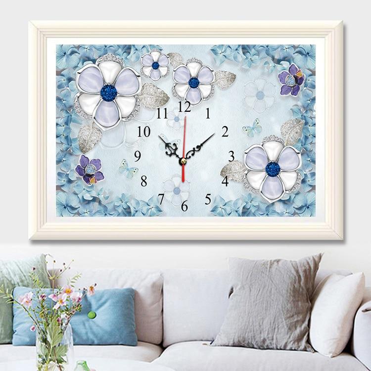 2018 DIY Ψηφιακό ρολόι Αριθμός ρολογιών - Τέχνες, βιοτεχνίες και ράψιμο - Φωτογραφία 2
