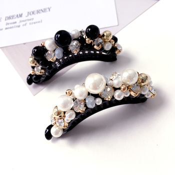 Korea Full Crystal Geometric Rhinestones Side Bangs Clip Hair Accessories  Clips For Women Hairpin Hairgrips Claws