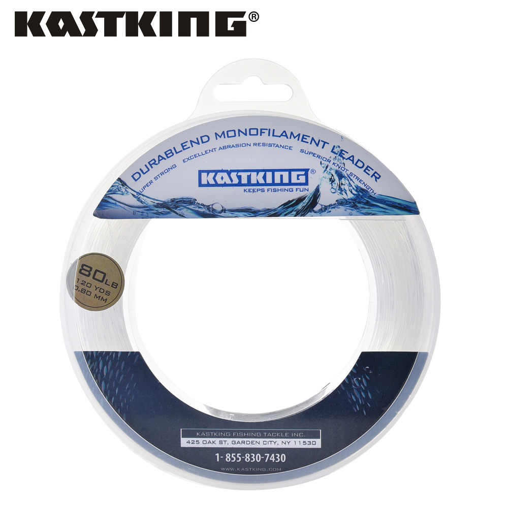 Kastking 20-200LB 110M 0.40-1.40 Mm Nylon Vislijn Super Sterke Smooth Monofilament Leader Lijn Boot Anti-bite Voor Vissen