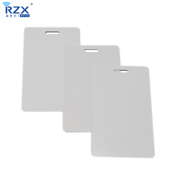 free shipping ISO14443A 13 56Mhz rfid MIFARE Classic 1k ID badge employee lanyard card blank card