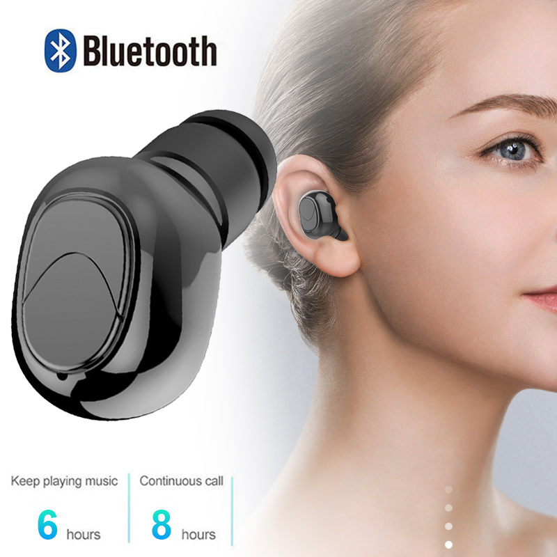 Mini Bluetooth Headset Running 50mAh Bluetooth Earphone Smart Phone Durable Bluetooth Headphone