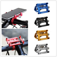 Aluminum MTB Bike Bicycle GPS Holder Motorcycle Support Phone Holder For Iphone 7 6 6s Plus