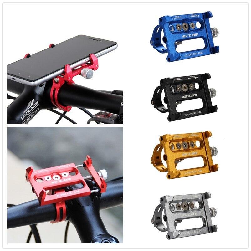 imágenes para Aluminio MTB Bicicleta GPS holder soporte Del sostenedor Del Teléfono de la motocicleta para iphone 7 6 6 s plus 5S bike manillar de la bici accesorios