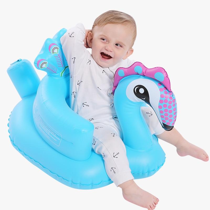 Videurs gonflables de chaise d'apprentissage de bébé de sofa, sauteurs BB anti-fal dinant la chaise petit sofa portatif de bébé - 3