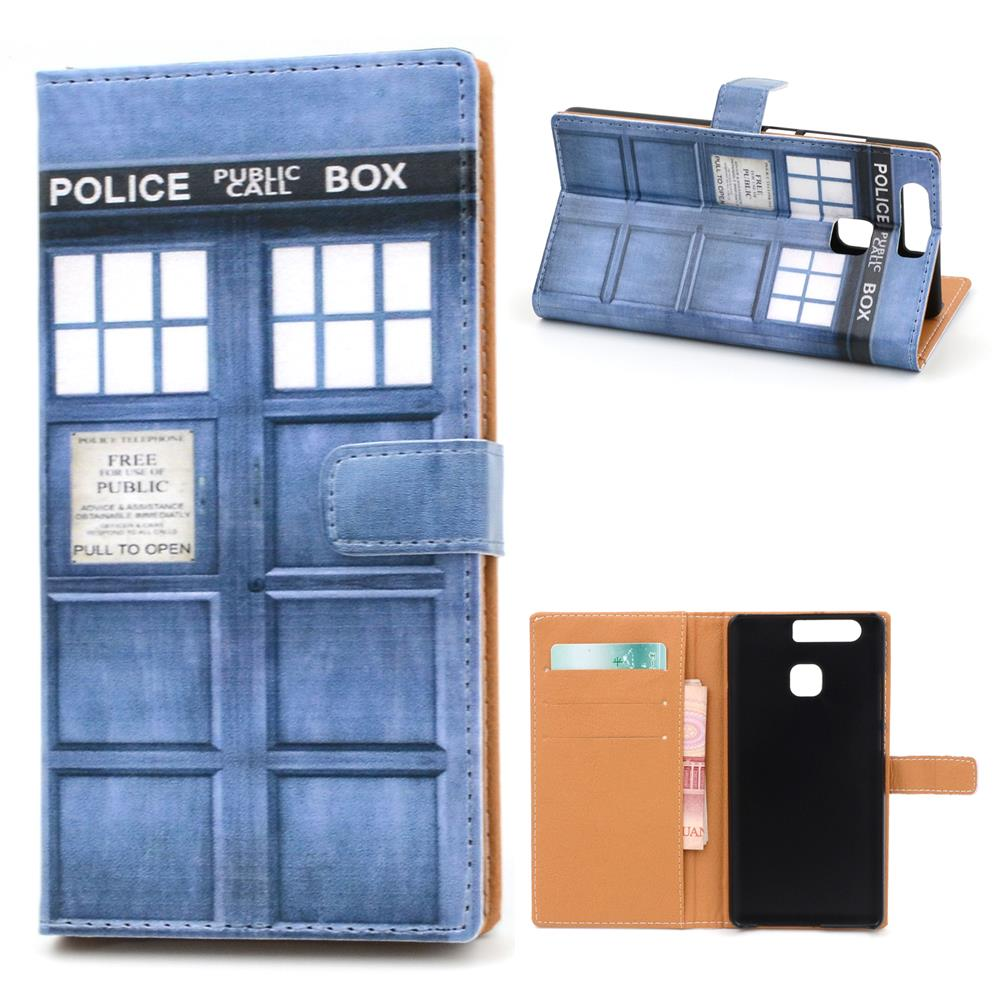 For HuaWei P9 Leather Case Leather Wallet Case for HuaWei P9 FREE SHIPPING