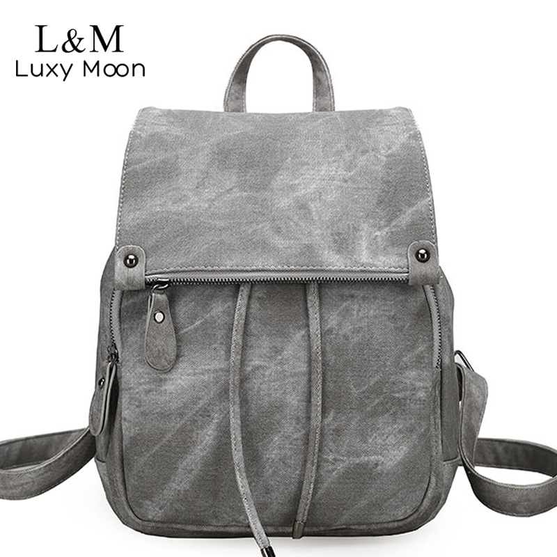 df83f9e564d7 Detail Feedback Questions about Vintage Women Backpack Large Black  Drawstring School Bags For Teenage Girls Shoulder Bag PU Leather Backpacks  mochila New ...