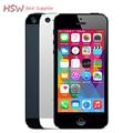 100% разблокирована APPLE iPhone 5 Оригинальный Мобильный Телефон iOS 8 OS Dual core 1 Г ОЗУ 16 ГБ 32 ГБ 64 ГБ ROM 4.0 дюймов 8MP Камера WIFI 3 Г GPS