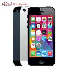 100% unlocked APPLE iPhone 5 Original Cell Phone iOS 8 OS Dual core 1G RAM 16GB 32GB 64GB ROM 4.0 inch 8MP Camera WIFI 3G GPS
