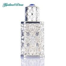H& D Серебряный винтажный многоразовый флакон духов Пустой Стеклянный декор для путешествий 2 мл
