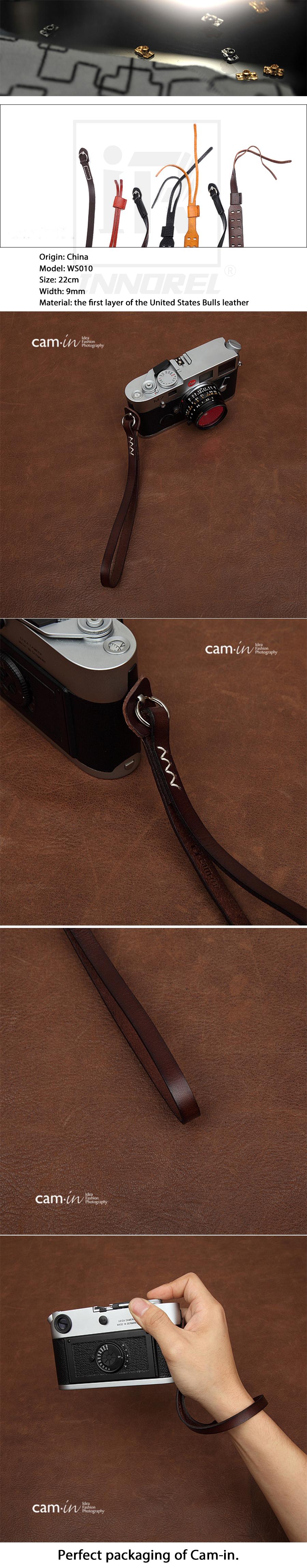 Камера из воловьей кожи 3021 3026 итальянский ремешок для камеры