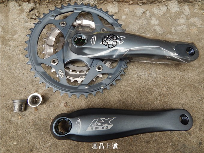 shimona LX M572 isis bottom bracket and 175mm crank arm mtb bicycle crank шатуны mtb fsa gravity extreme bash 36 24t 175mm