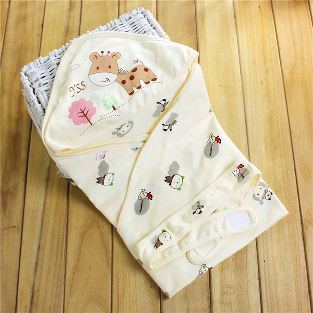 Recién nacido parisarc algodón del bebé parisarc 100% mantas colcha bebé suministros verano delgada