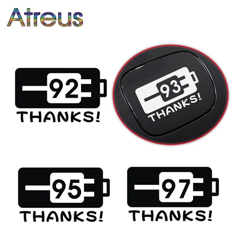 Atreus Car Styling Sticker Fuel Tank Cap Stickers For