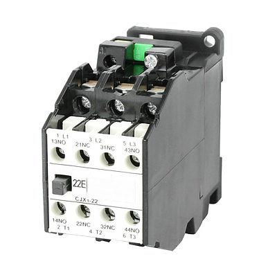 CJX1-22 AC Contactor 36V 50Hz Coil 22A 3-Phase 3-Pole 2NO + 2NCCJX1-22 AC Contactor 36V 50Hz Coil 22A 3-Phase 3-Pole 2NO + 2NC