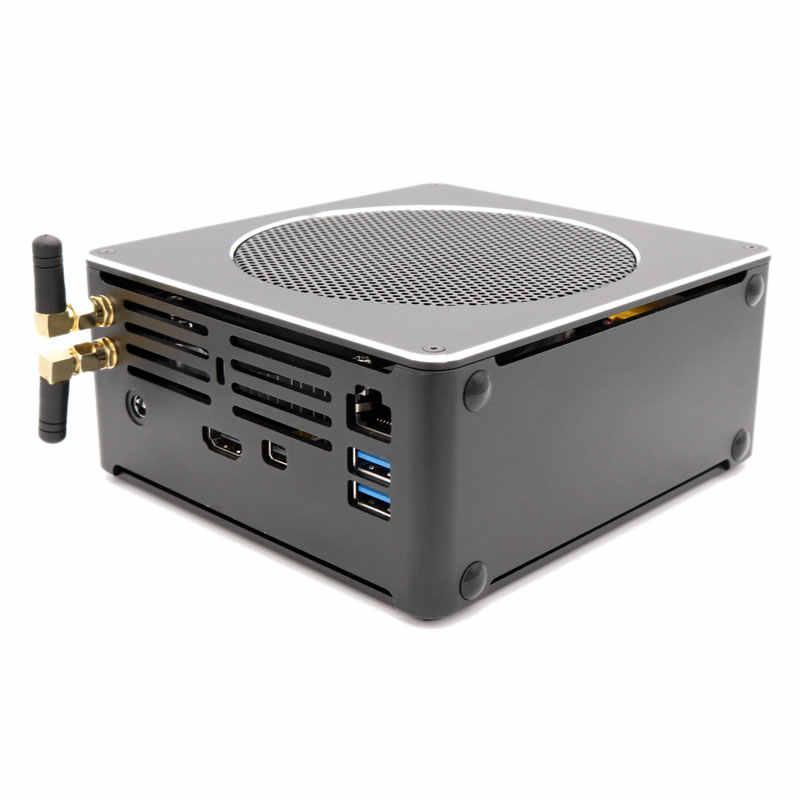 Eglobal مونستر كمبيوتر مصغر i7 8750H 6 Core 12 المواضيع DDR4 2666MHz Nuc ويندوز 10 برو لينكس كمبيوتر صغير التيار المتناوب واي فاي صغير DP HDMI