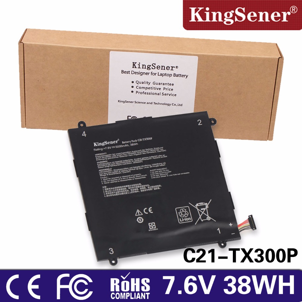 купить KingSener new C21-TX300P Laptop Battery For ASUS Transformer Book TX300CA 13.3