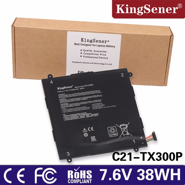 Kingsener new c21 tx300p laptop battery for asus transformer book kingsener new c21 tx300p laptop battery for asus transformer book tx300ca 133 free 2 greentooth Images