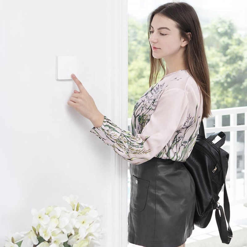 Xiao mi aqara Smart Switch Licht Afstandsbediening Zigbee Wifi draadloze Sleutel Muur Switch Werken met mi jia mi thuis APP en Homekit