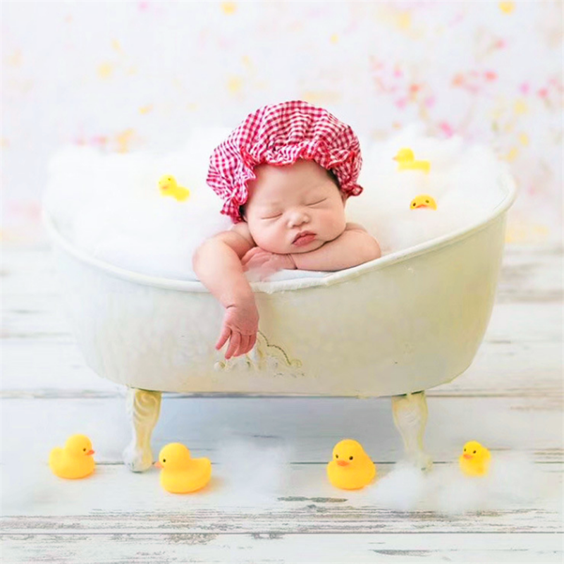Newborn Photography Props Infant Photo Shooting Props Baby Bathtub Creative Posing Shower Basket Accessories