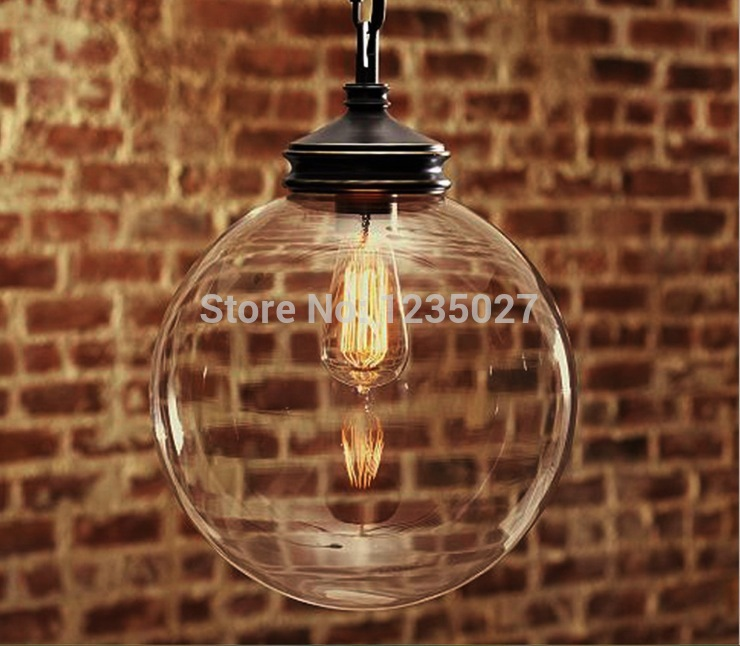 Free Shipping Nordic American Style Retro Pendant Lamp With E27 Edison Bulb Loft Vintage Pendant Light,Antique Pendant Lamp edison bulb loft classical vintage pendant light lamp with with glass shade e27 e26 base free shipping