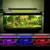 5050SMD 36LED 6W RGB Remote Control High Brightness Aquarium Fish Tank Telescopic LED Holder Light Lamp