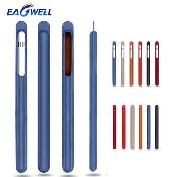 Funda de cuero PU para Apple Pencil, Funda de cuero para Tablet, lápiz táctil, funda protectora, funda protectora, funda antigolpes