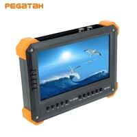 7 inch IP Camera Tester UTC 4MP AHD 3MP TVI 1080P CVI CCTV Tester Monitor Support VGA and HDMI Input Security Camera
