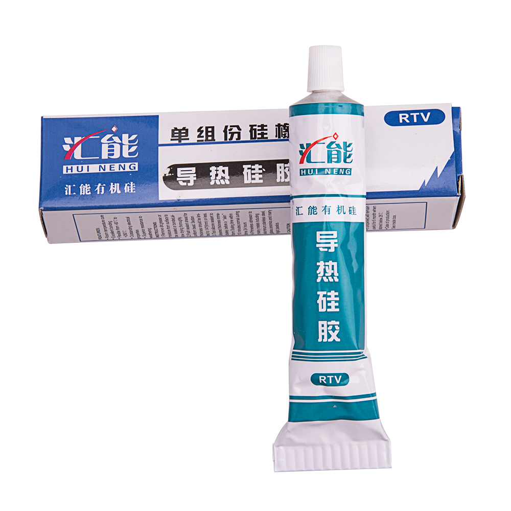 5pieces heat conduct glue grease silicon heat conduct glue led heatsink grease CPU heat sink glue electrical component cool down