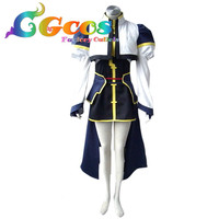 Free Shipping Cosplay Costume Magical Girl Lyrical Nanoha Hayate Yagami Uniform In Stock Retail Wholesale Halloween