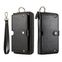 Genuine Leather Handbag Case For Sony Xperia XZ XZ1 XZ2 XA2 Ultra Wallet Pouch Universal Strap Multipurpose Phone Bags Cases