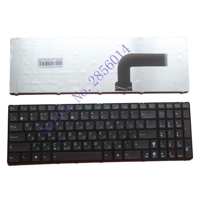 Русская клавиатура для ASUS X53 X54H k53 A53 N53 N60 N61 N71 N73S N73J P52F P53S X53S A52J X55V X54HR X54C RU с черной каймой