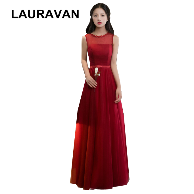 Girls Formal Occasion Fashion Party Dresses For Teens 2020 Short Dark Red Pretty Bridesmaid Dress Ball Gown Under 50 2018 Bridesmaid Dresses Aliexpress