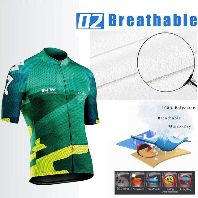 2019 Verão Quick Dry-Conjunto Camisa de Ciclismo MTB bicicleta de Estrada Bicicleta de Ciclismo Roupas de Bicicleta de Montanha Respirável Roupas Ciclismo Definir 2