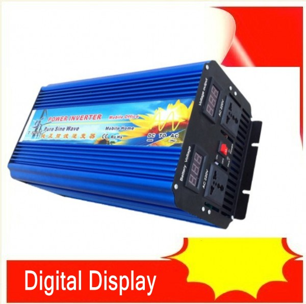 4000W Pure Sine Wave Inverter DC to AC Power Inverters, 8000W Peak Power, 4000 Watt Wind Solar Off Grid System Inverter inversor 12v onda senoidal pura 4000 watt pure sine wave inverter pure sine wave dc to ac pure inverter 4000w peak 8000w